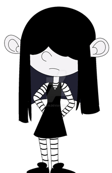 Lucy Loud from The Loud House by amos19