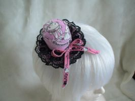 Lolita decora mini hat 2 by Dolly-chan
