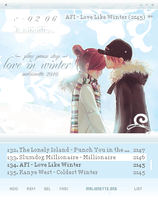 Love in Winter by malionette