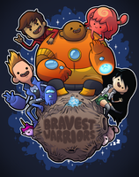 The Bravest Of Warriors! by hyperboy