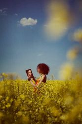 Yellow Blue by Silecia