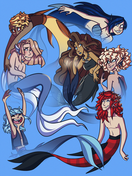7 Miracles for MerMay by TwistedDisaster