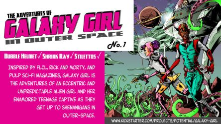 Galaxy Girl Story Image by amtaylor12