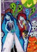 Sally and Emily by broomcupboard-girl