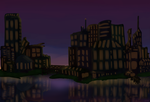 Sunrise of the city by Sereida-Arts