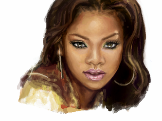 RIHANNA by miouhswings