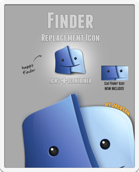 JacuSan's Finder Icon by JacuSan