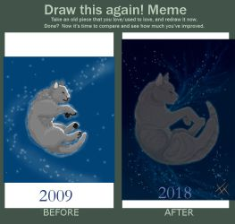 Meme  Before And After One of Stars by RavenGuardian13