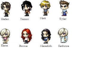 Vampire Diaries by CreepyKitty911411