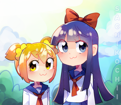 Pop Team Epic!! by SachikoChii