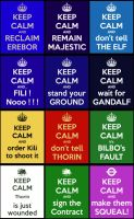 TGD #8: Keep calm in Middle-Earth by PeckishOwl
