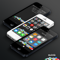 Wallpapers LS+SB iCons7 Black by Svink77
