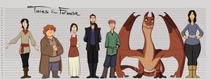 Tales from Formosa: Main Cast Lineup by hammertheshark