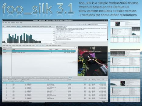 foo_silk 3.1 by MatthijsB