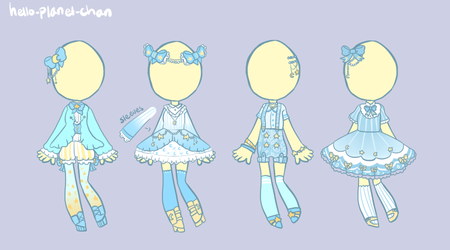 [outfit set] - ari-gator by hello-planet-chan