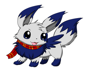 Silver the Eevee by pichu90