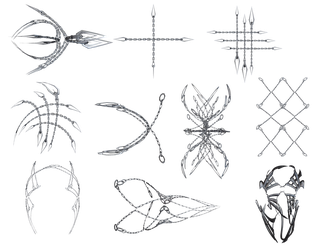 Chain Shapes PNG Stock by Roy3D