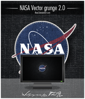 NASA Vector grunge 2.0 by TheAL