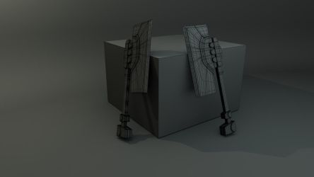 Ogre Axes by JWright-3D-Graphics