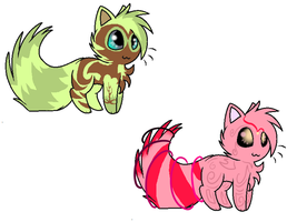 Cheap Adoptables by SilverTailTwo