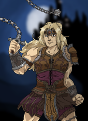 SIMON BELMONT LASHES OUT by CinSensura