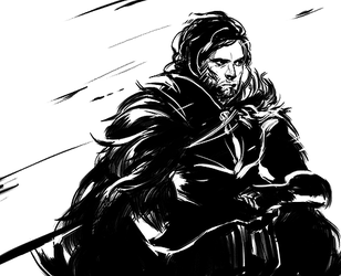 Jon Snow - asoiaf by 2013