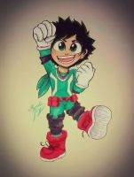 Little Deku by DrawSumi