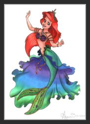 Disney Princess: Ariel by fairygodpiggy