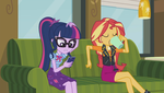 MLP EQG  Text Support Moments 8 by Wakko2010