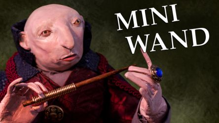 Crafting A Miniature Wizard's Wand by TheDreamSynd