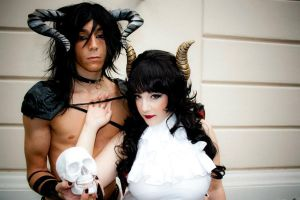 Incubus and Succubus by ManuelaRusso