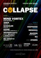 COLLAPSE party flyer by 2NiNe