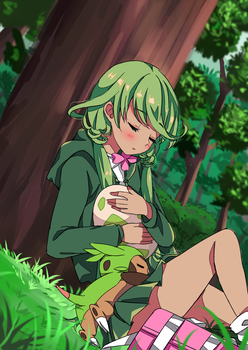 [P-Dianthe] Resting - Eclosion 1 by purinachi