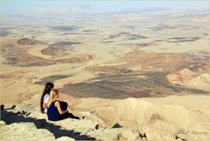 On top of Ramon crater 2 by ShlomitMessica