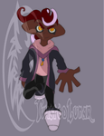 Vampire Octoling (POINTS/PAYPAL OPEN) by TwistedLunar