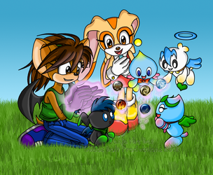 Chao Playtime by TanjatheBat