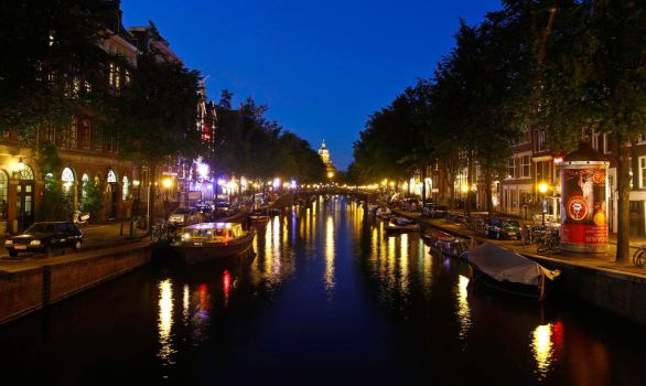 Relaxing Canal View by BusterBrownBB