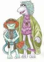 Fraggle Rock by Rabbittut