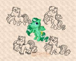 MLP : Linearts and Medley by Titi-Chan35