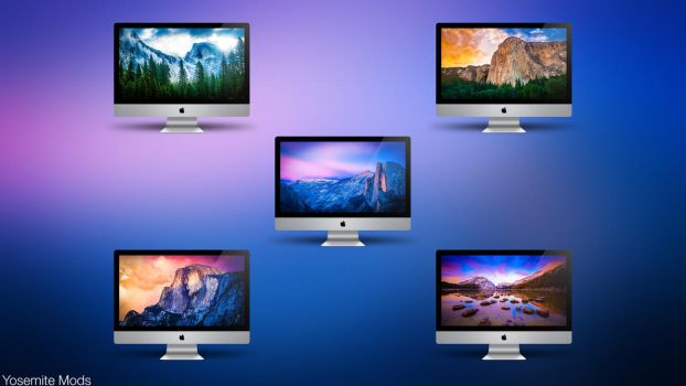 Yosemite Mods by AaronOlive