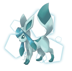 Glaceon by faebyte-art