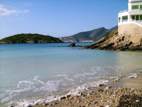 at the Port Sant Elm by violetberry