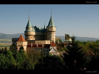 Bojnice castle by WildSammy