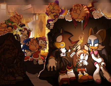 Last of Us - Sonic version by Tigerfog