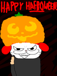 Tegaki E - Happy H-afro-ween by Maxtaro