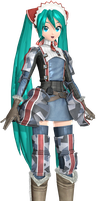 PDAFT The Gallia Army 7th Platoon Miku by Luke-Flame