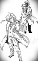 Elric Brothers by SnitchWing