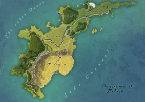 Aleria: The kingdom of Zidron by Tekila-onRice