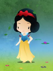Disney Princesse Snow White by capdevil13