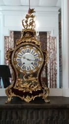 Chambord Castle's  - ancient clock by HildaAlonso